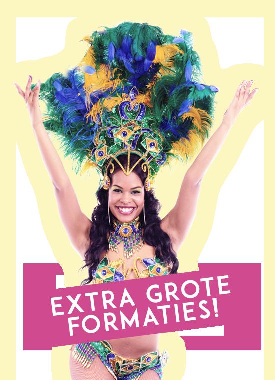Rio Carnaval Night grote formaties samba danseressen voor uw evenement om in te huren.