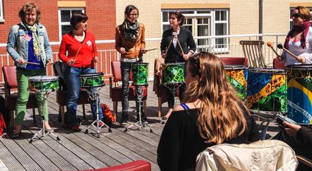 Creatieve percussie workshop voor iedere gelegenheid