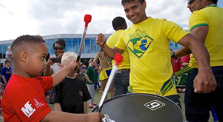Braziliaanse samba workshops voor bedrijfsfeesten